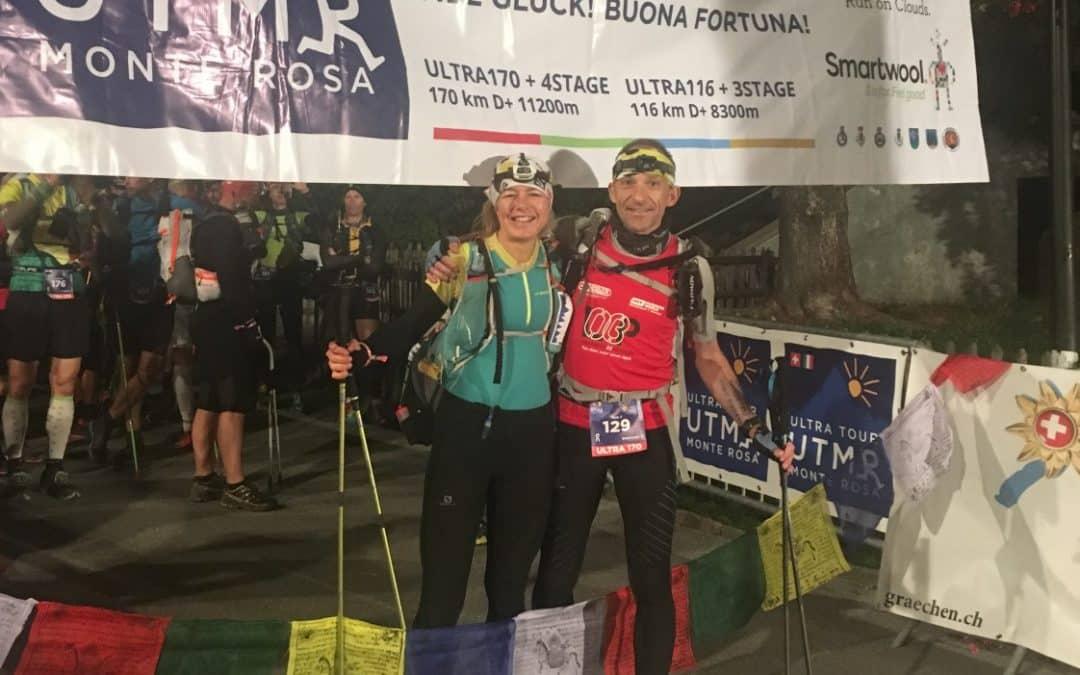 Ultra Tour Monte Rosa (UTMR) 170km 11.200m D+