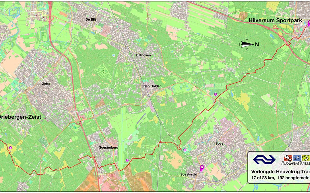 Nieuwe NS Trailroute: Verlengde Utrechtse Heuvelrug