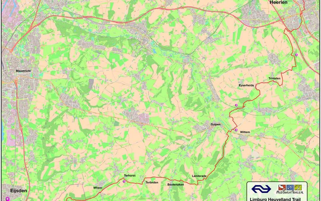 Nieuw: NS Limburg Heuvelland Trail: 36km / 580d+