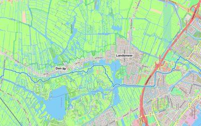 Draven in de polders rond de hoofdstad