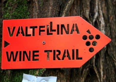 valtellina wine trail bord