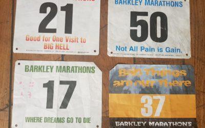 Zaterdag start de roemruchte Barkley Marathons..