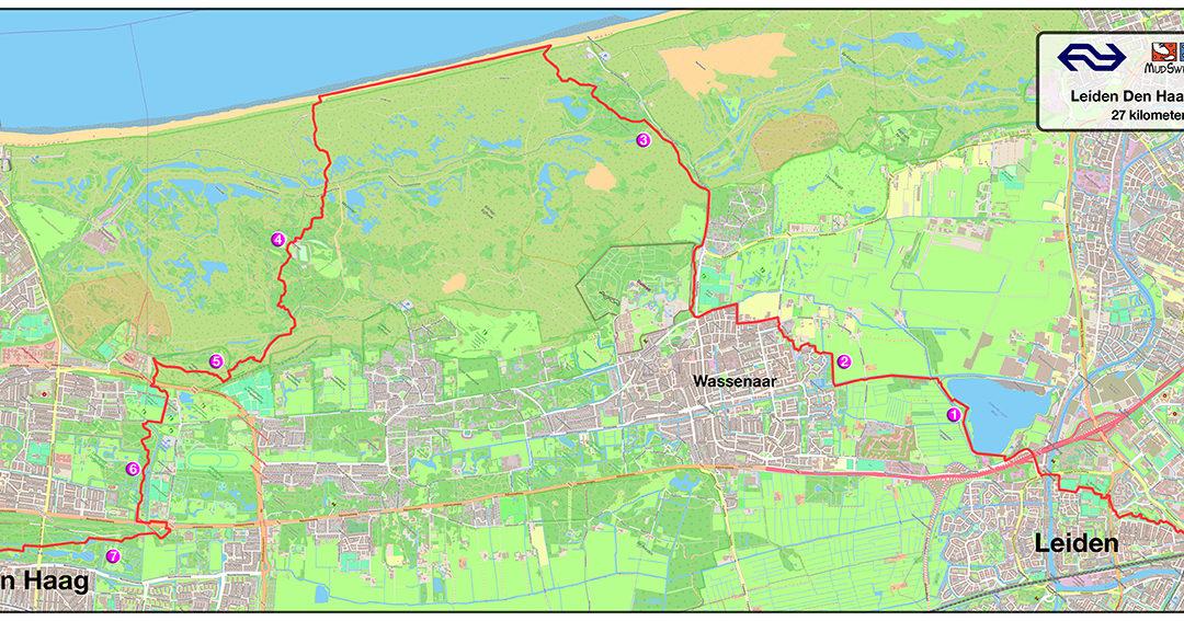 Nieuw: de NS Den Haag – Leiden Trail