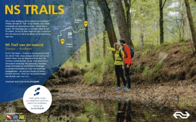 Vrijwilligers gezocht voor routeonderhoud NS Trails