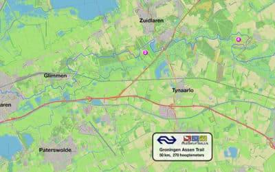 Nieuw: de NS Groningen – Assen Trail