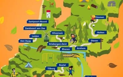 Handig overzicht NS Trails: Trail ze allemaal!