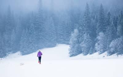 Trailrunning bij winterse omstandigheden