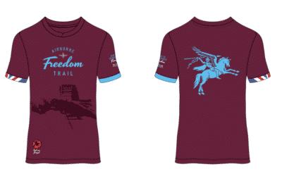 Presentatie shirt Airborne Freedom Trail 2021